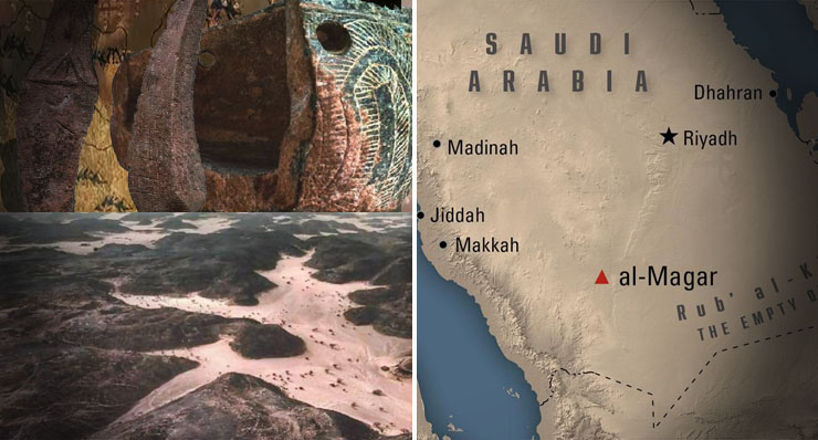 Ismeretlen 9000 éves lovas kultúra az Al Magar területen? Eltitkolt bizonyítékok!