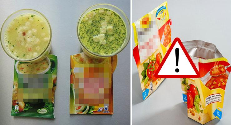 Ez van a zacskós levesben: jobb ha nem tudod meg, valójában vegyszerek és mérgek elegye!