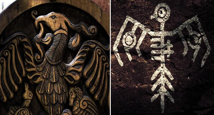 Az ősi indián és a magyar díszmotívumok MEGEGYEZNEK! Ősmagyar indián múlt, rejtett történelem, amiről nem beszélnek!