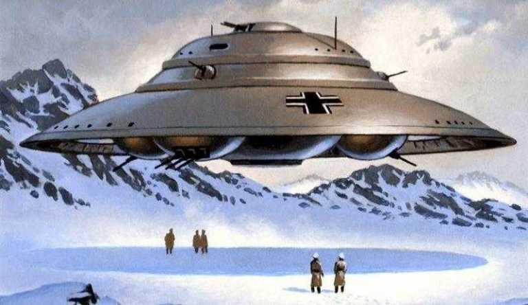 Náci UFO az Antaktiszon