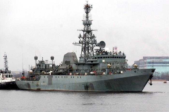 Az Orosz Haditengerészet elektronikai felderítő hadihajói