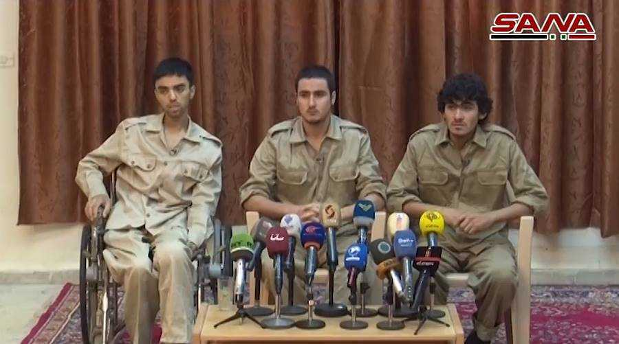 harom isis terrorista bevallotta hogy az amerikai megszallo erőkkel együttműködve hajtottak vegre műveleteket